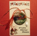 Martisor pictat manual - Asfintit